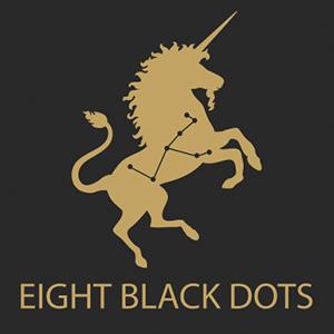 Eight Black Dots